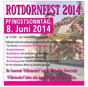 Rotdornfest 2014