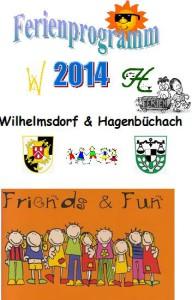 Ferienprogramm 2014 Titelseite