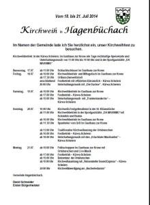 Kirchweihprogramm_Hagenbuechach_2014