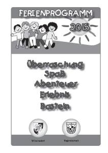 Ferienprogramm2015-Titel