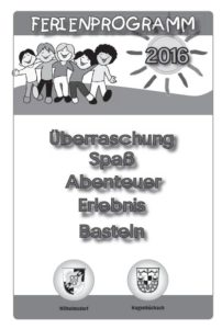 Titelbild Ferienprogramm 2016