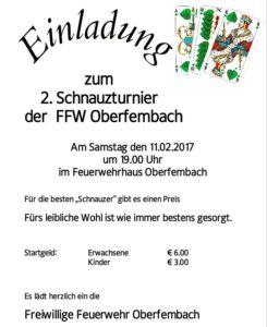 Schnauzturnier FFW Oberfembach 2017
